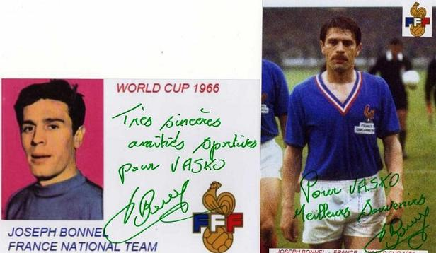Bonnel,Joseph - France national team -1962-1969