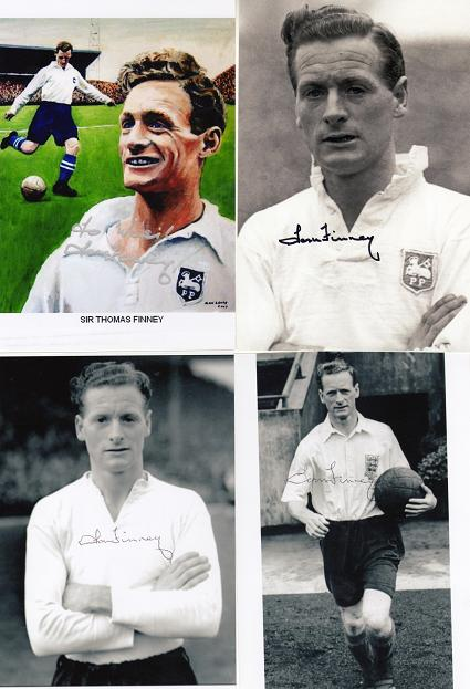 Finney,Thomas -England World Cup 1950.1954,1958